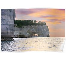 Pictured Rocks National Lakeshore / Grand Point Poster