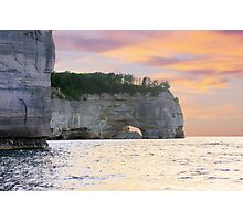 Pictured Rocks National Lakeshore / Grand Point Photographic Print