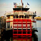 Steamboat Natchez by bodhikaiimagery