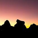 Early Morning Rocks by Zach Pezzillo
