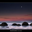 Moeraki Boulders by JayDaley