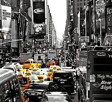 Time Square  by TiffanyAlexiis