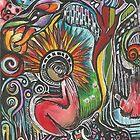 She feels in color by Faith Magdalene Austin