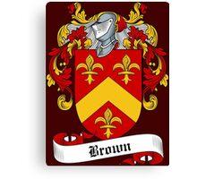 Broun (Brown) Canvas Print