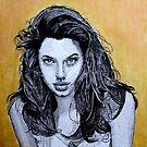 Angelina Jolie by WienArtist