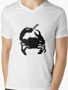 Western Mudcrab Mens V-Neck T-Shirt
