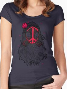 WAR & PEACE Women's Fitted Scoop T-Shirt