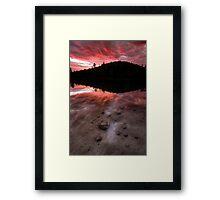 In Flames Framed Print