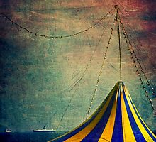 Circus with distant ships II by Silvia Ganora