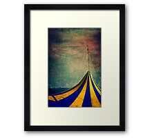 Circus with distant ships II Framed Print