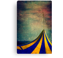 Circus with distant ships II Canvas Print