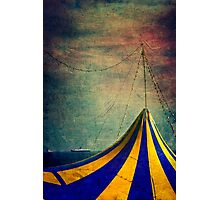 Circus with distant ships II Photographic Print
