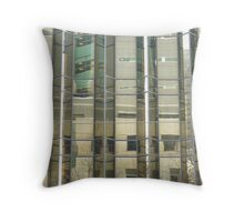Building Reflection Throw Pillow