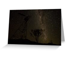 under the milky way tonight..... Greeting Card