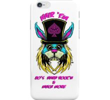 Hair'Em Slash'd Bobby aka BadBunny Logo iPhone Case/Skin
