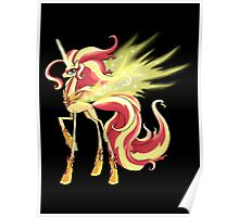 My Little Pony - MLP - Sunset Shimmer Alicorn Poster
