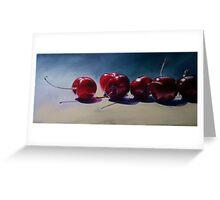New Season Cherries Greeting Card