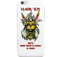 "Hair'Em Ed'd "" Bobby aka BadBunny "" Logo iPhone Case/Skin"
