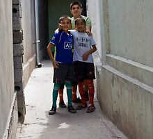 Kids of Tashkent by Gillian Anderson LAPS, AFIAP
