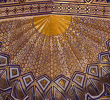 Ceiling, Amur Timur Mausoleum by Gillian Anderson LAPS, AFIAP