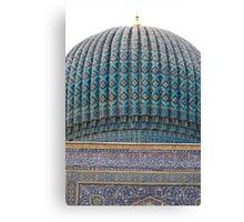 Dome of Amur Timur Mausoleum Canvas Print