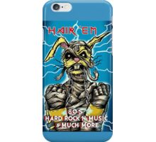 "Hair'Em Mummy'd "" Bobby aka BadBunny "" Logo iPhone Case/Skin"