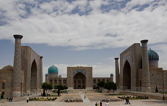 Registan Square view by Gillian Anderson LAPS, AFIAP