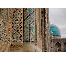 Registan columns Photographic Print