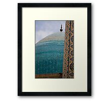 Blue Dome Framed Print