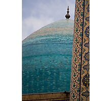 Blue Dome Photographic Print