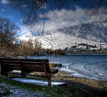 Lake Wakatipu Shores II by Vince Russell