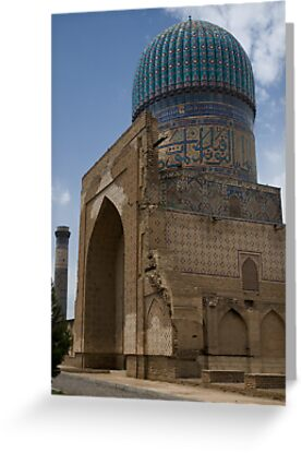 Bibi Khanum Mosque by Gillian Anderson LAPS, AFIAP