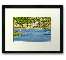 Just Another Bend In The Road © Vicki Ferrari Photography Framed Print