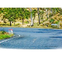 Just Another Bend In The Road © Vicki Ferrari Photography Photographic Print