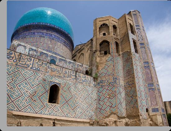 Bibi Khanum Mosque by Gillian Anderson LAPS, AFIAP
