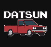 Datsun 620 8Bit  One Piece - Short Sleeve
