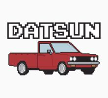 Datsun 620 8Bit  One Piece - Short Sleeve