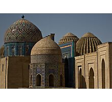 Domes of Shah-i-Zinda  Photographic Print