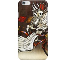 Skeleton on a Bike iPhone Case/Skin