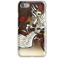 Skeleton on a Bike iPhone Case/Skin