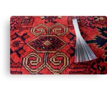 Carpet making tool Canvas Print