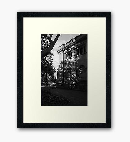 Sandstone Building Framed Print