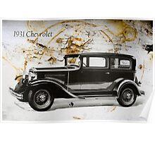 1931 Chevrolet Poster