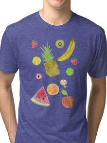 Fruit Fight! Tri-blend T-Shirt