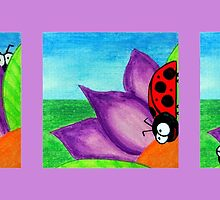 Cheeky Little Ladybeetle Series by Kelly Mark