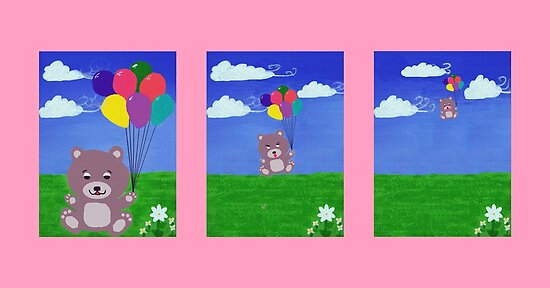 Cheeky Little Bear Series by Kelly Mark