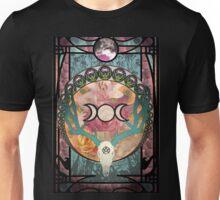 Lunar Deer Skull Unisex T-Shirt