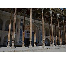 Bukhara Mosque Photographic Print