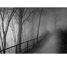 Dark way Photographic Print