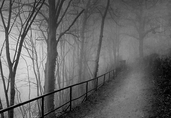 Dark way by Laurent Hunziker